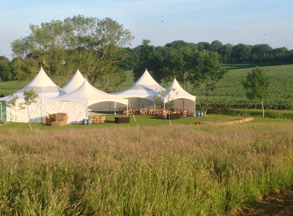 These 5 Marquees together £3420 inc VAT
