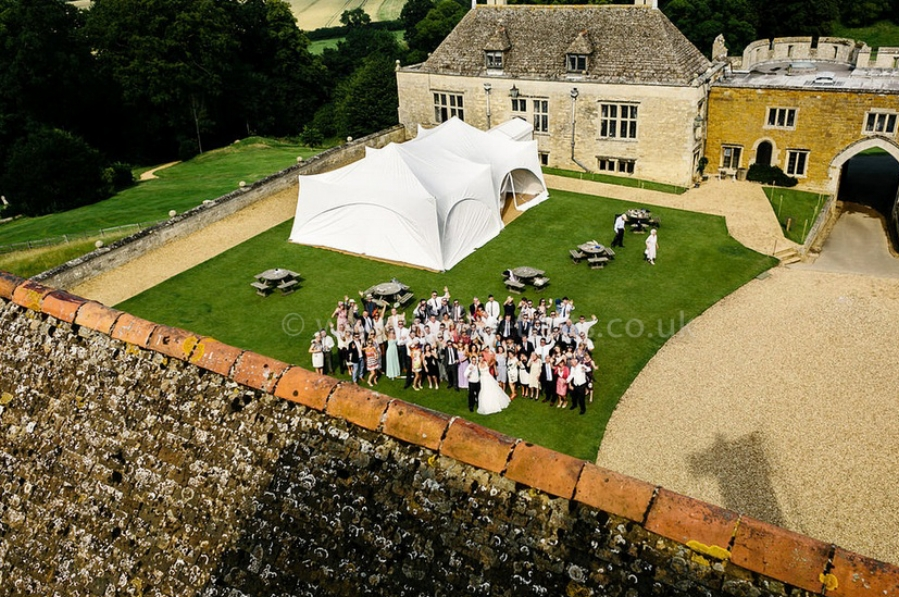 This Marquee with Matting £714 inc VAT