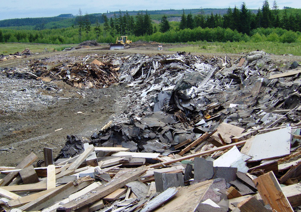 Reduce landfilling and emissions - 13 million tons of drywall debris are generated every year — 85% of it is landfilled.Landfilled wallboard produces Hydrogen Sulfide (asthmagen) in humid, anaerobic conditions.