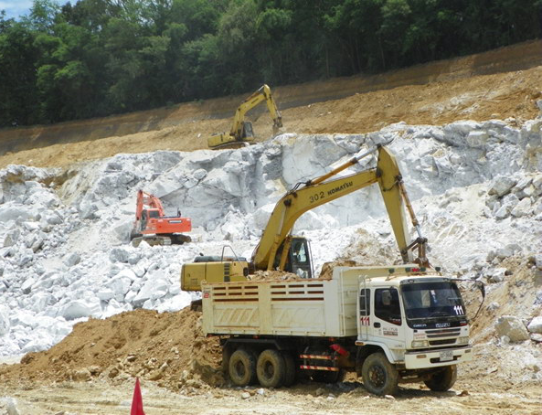 Minimize impacts - From natural gypsum mining.