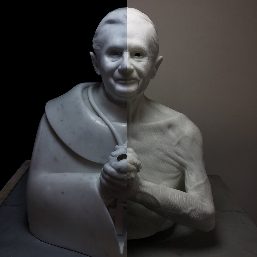 JAGO - Habemus Hominem - 2009 - 2016, marmo statuario (1).jpg
