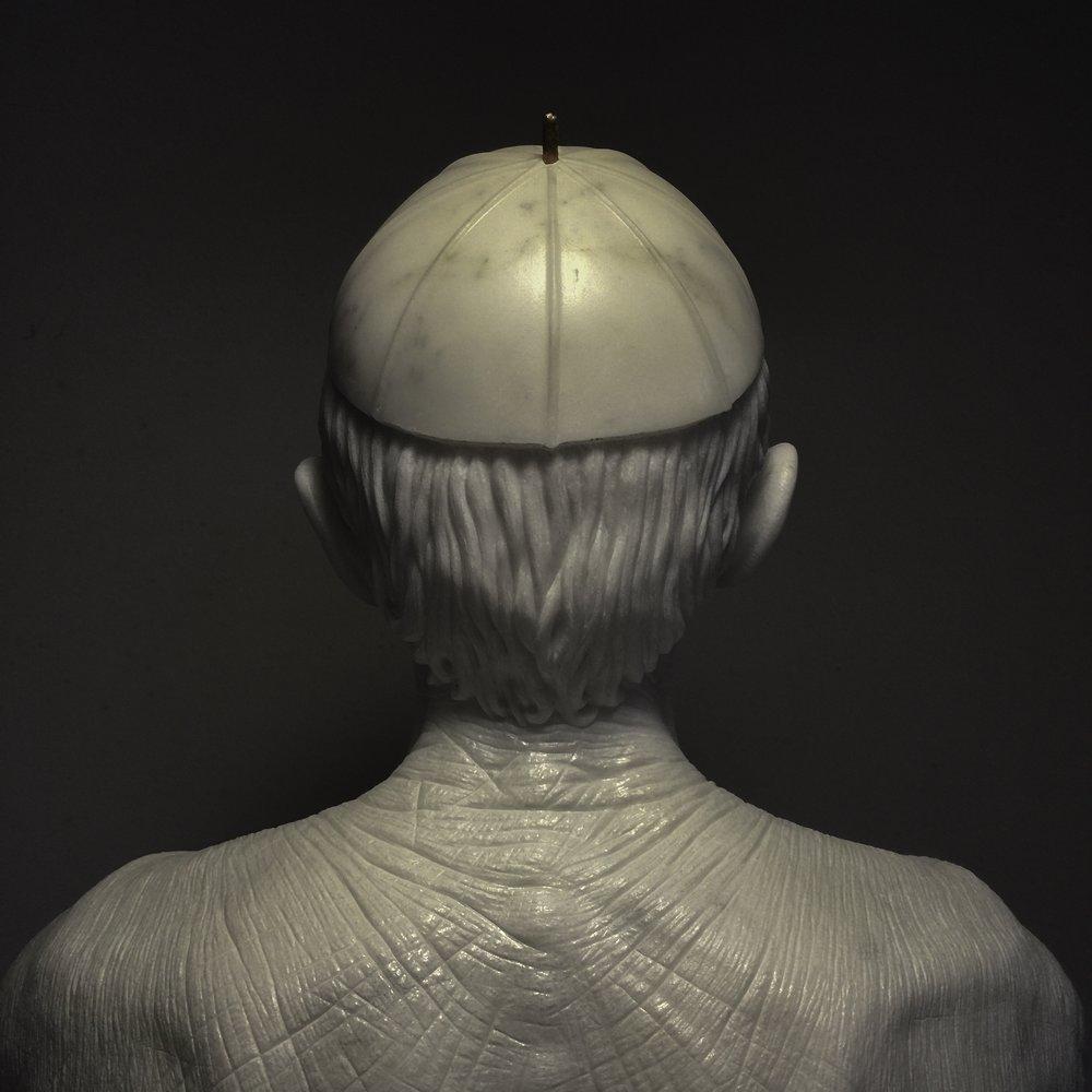 JAGO - Habemus Hominem - 2009 - 2016, marmo statuario (2).jpg