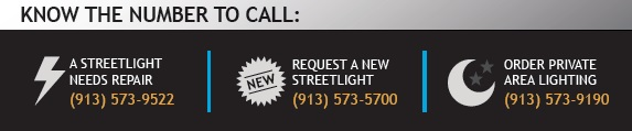 BPU Streelight Phone Numbers
