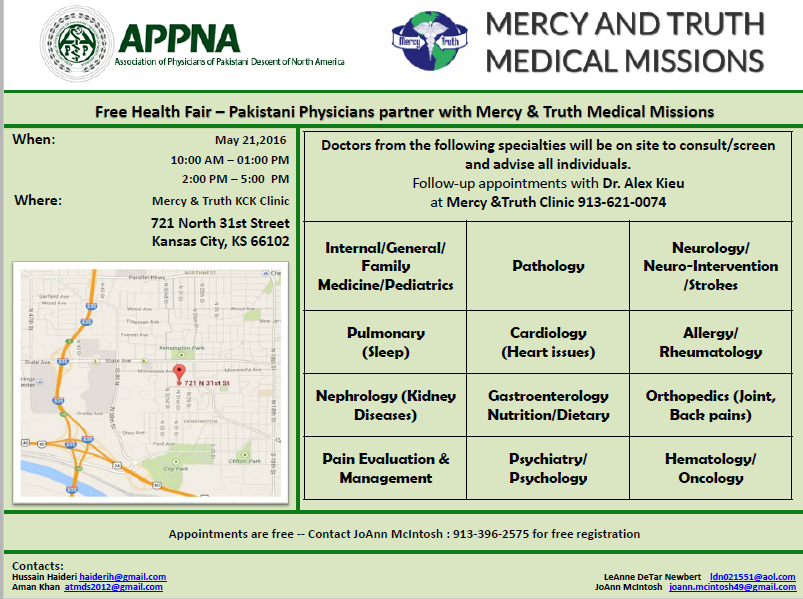 Mercy and Truth Medical Missions