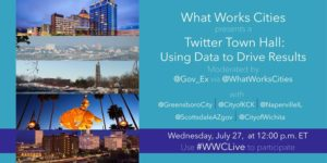 What Works Cities Twitter TownHall