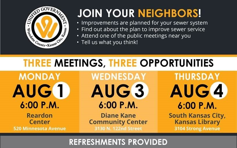 Sewer Improvement Public Meetings