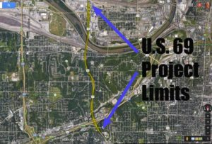 US69 Project Limits