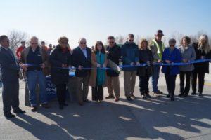 Fairfax Bridge Opening & Ribbon Cutting