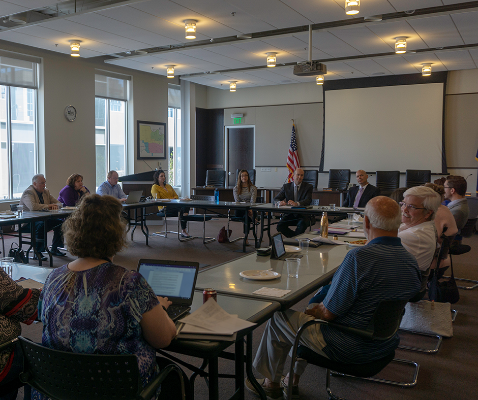 Downtown Shareholders April 2018 Board Meeting with KU Health System.png