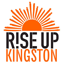 Rise Up Kingston Logo and link