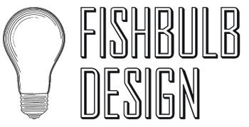 Fishbulb Design LLC Graphic Design Newburgh NY logo and link