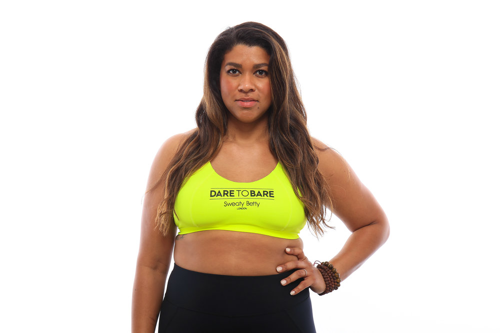 Bright Lime We Dare To Bare Sports Bra - $35