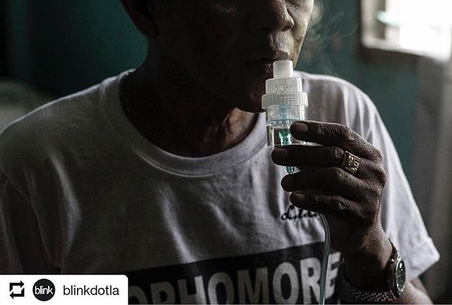 "#Repost @blinkdotla • • • Nestor Castro, 58, uses his #nebulizer inside his room in #Barangay #Lamao in Bataan, northern #Philippines. Castro, a non-smoker, began to experience severe #asthma attacks in 2014, when a 140-megawatt #coal-fired power plant started to operate in his village. He was hospitalized three times last year. Finally, his doctor told him: Leave this place if you want to live longer.The Philippines is heavily reliant on coal as an energy source. . Our country currently has 17 operational coal-fired power plants, with 29 more set to operate in 2020. Despite a global trend to phase out coal and the rapid lowering of costs of #renewable energy technologies, the Philippines will be locked into a coal-based energy system for years to come due to an incohesive energy policy that favors corporate interests over the benefit of the majority. . @alanahtorralba's work on coal-fired power plants aims to shed a light on a central pillar of the Paris Agreement: #mitigation. While my country is an insignificant emitter, accounting for only 0.3% of global emissions, the need to step up ambitions has never been more urgent after #UN #scientists released a draft report that warned that a warmer and harsher earth is on the horizon if the world does not dramatically cut its greenhouse gas emissions. Curbing emissions by phasing out coal in my country would also be a respite for residents living nearby coal-fired power plants who are directly impacted by its #pollution.  This week, @alanahtorralba is sharing a variety of work that aims to simplify climate action and policymaking by depicting concrete impacts of #climatechange in the #Philippines. Today we will look at excerpts from Alanah's visual essay ""The Dirtiest Energy."" Photo: @alanahtorralba/ @womenphotograph"