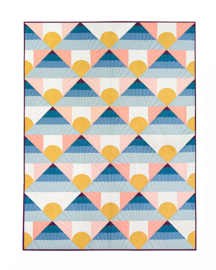 Mountain Horizon Quilt Pattern - PDF — Lo & Behold Stitchery