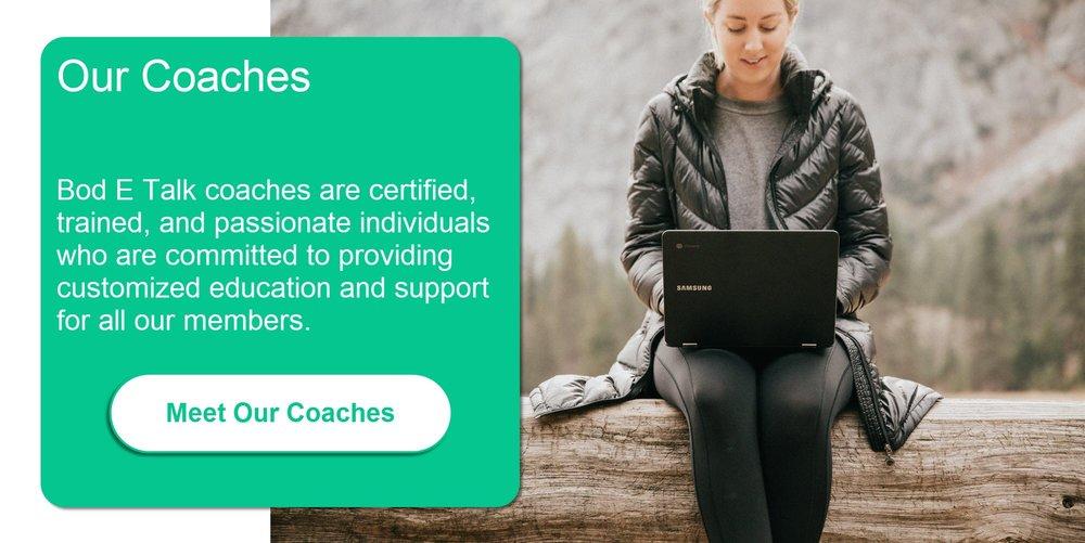 Bod E Talk Coaches