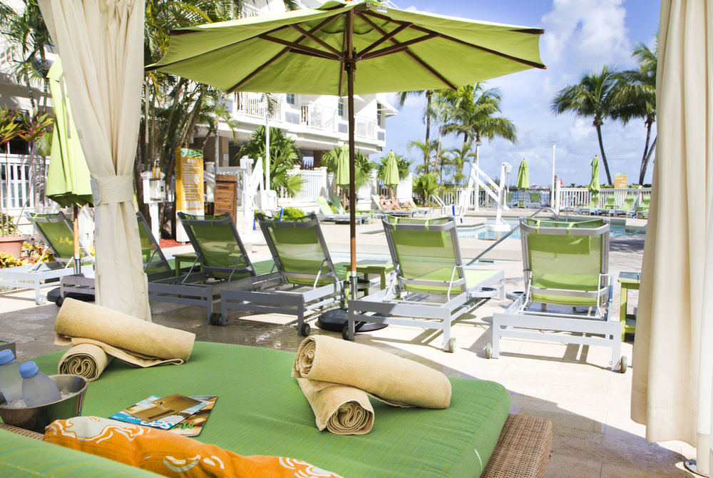 Resort style photography of Key West hotel
