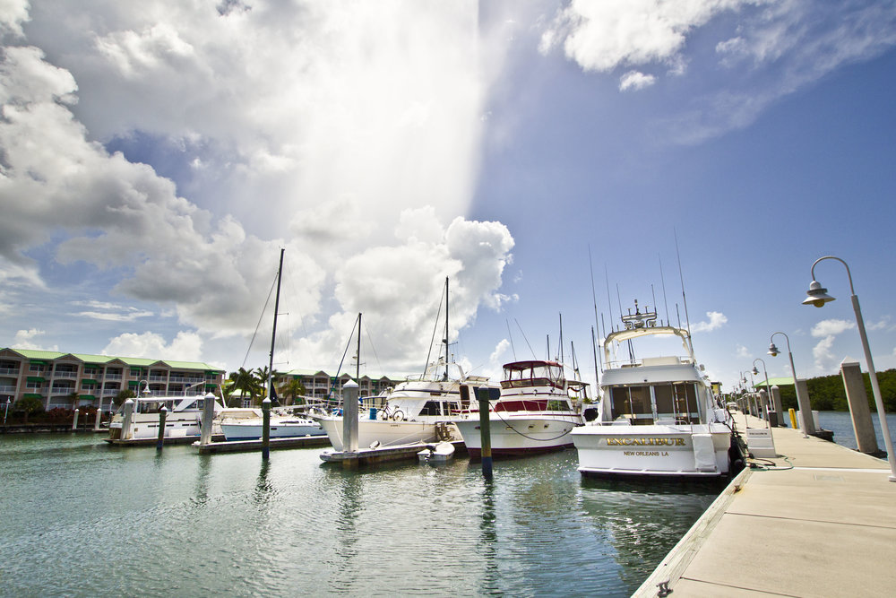 Row of boats in marina in Key West social media photos by Bond Fire Studio.jpg