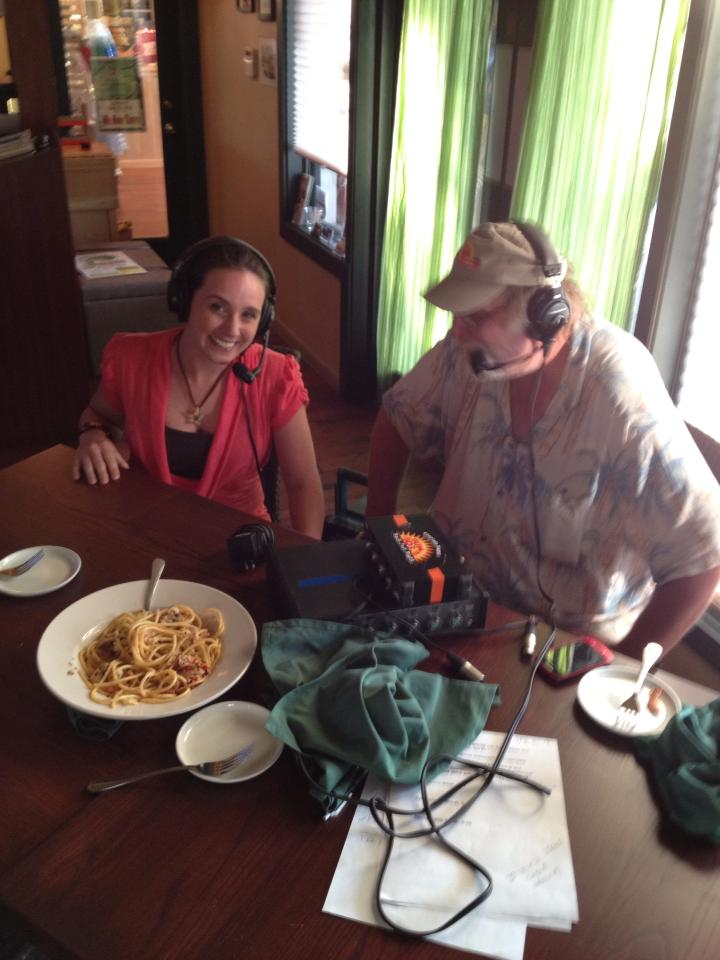 My first radio appearance was on the Girls Night Out show, recorded live at the Green Turtle Inn in Islamorada, FL.