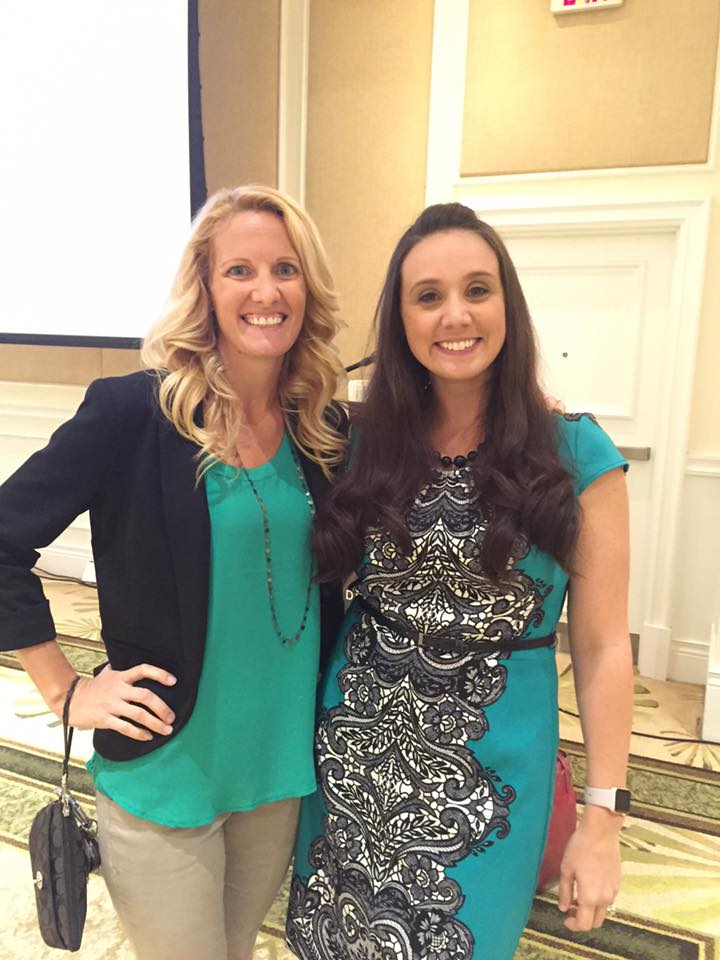 With Jenny Lorenz, Director of Marketing for the Perry Hotel, and former colleague who was there for support as I taught a full-day Social Media Seminar for the Key West Chamber of Commerce in 2016.