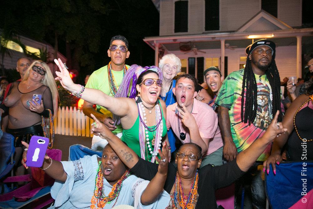 revelers enjoy fantasy fest in key west