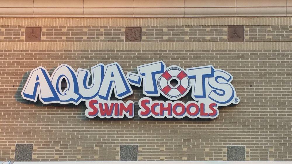 Custom Aqua Tots sign