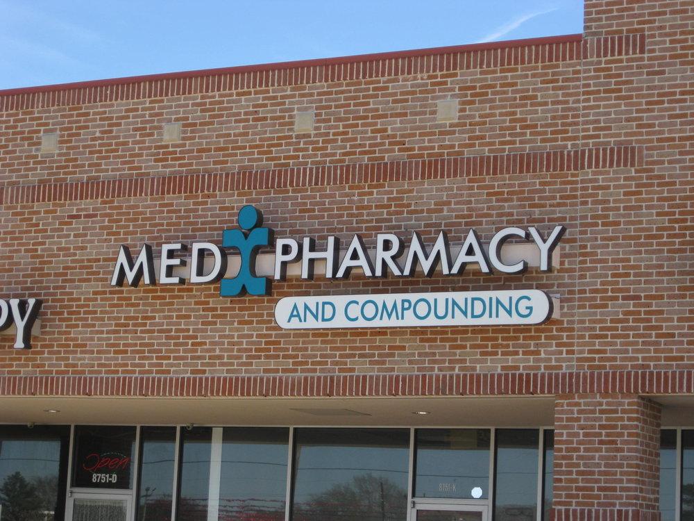 MedX pharmacy LED channel letter.JPG