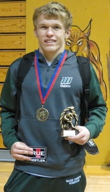 Luke Littlefield    Most Outstanding Wrestler    Fitzgerald Invitational