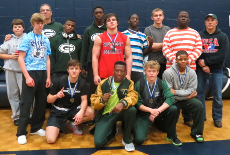TEN   GATORS BRING HOME MEDAL 2013 REBEL INVITATIONAL