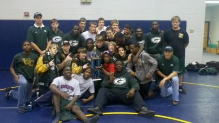 Gators take 1st at Yellow Jacket Duals    December 2 & 3