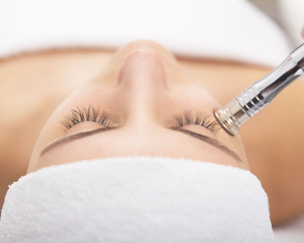Microdermabration - Microdermabrasion is a minimally abrasive instrument to gently sand the skin, removing the thicker, uneven outer layer of skin, increasing collagen thickness resulting in a younger looking complexion.