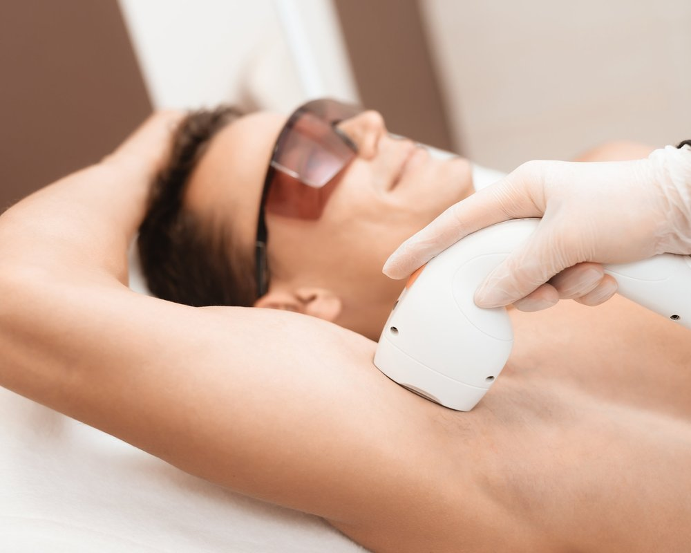 HAIR Reduction - Laser hair removal is one of the most commonly done cosmetic procedures in the U.S. It beams highly concentrated light into hair follicles. Pigment in the follicles absorb the light. That destroys the hair.