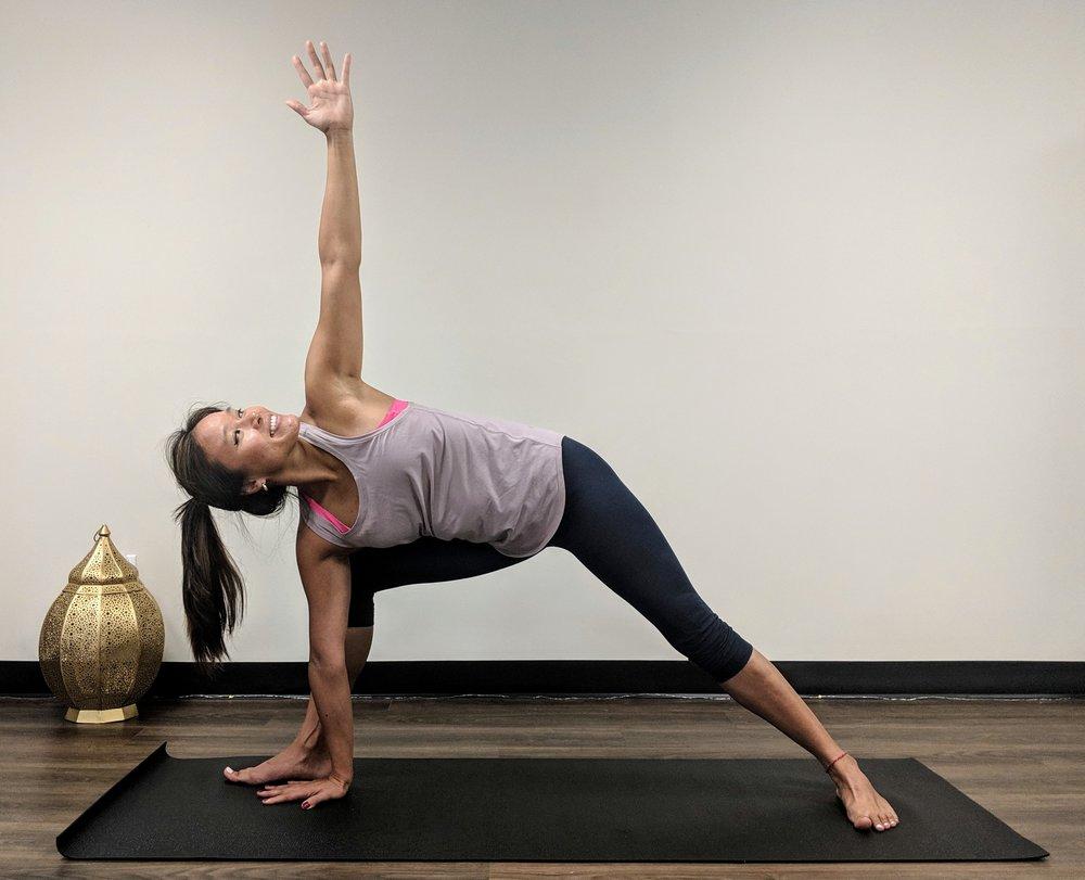 andrea yoga pose