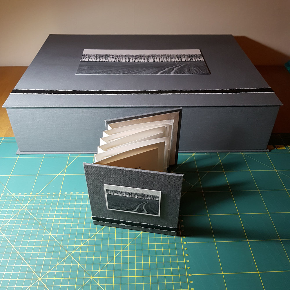 Project book and presentation box