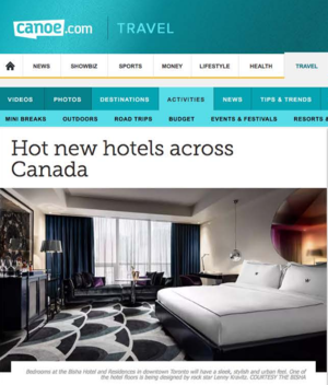 Hot New Hotels Across Canada Canoe.com