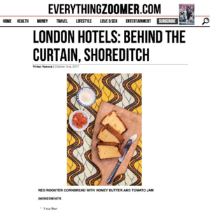 London Hotels: Behind The Curtain, Shoreditch EVERYTHING ZOOMER