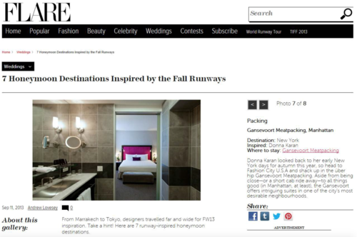 7 Honeymoon Destinations Inspired by the Fall Runways VIEW THE VIBE