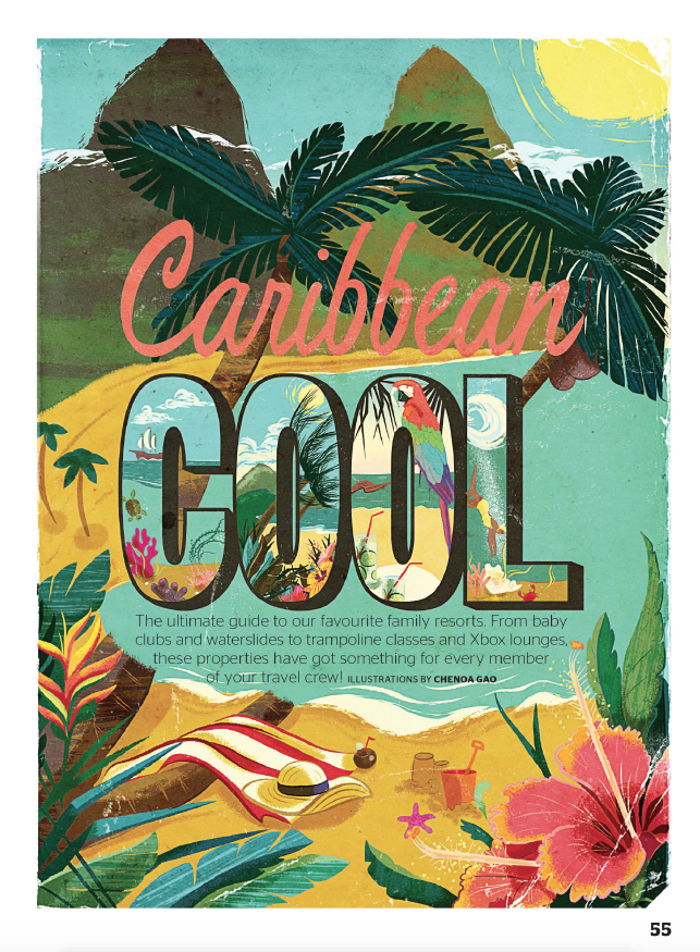 Caribbean Cool TODAY'S PARENT