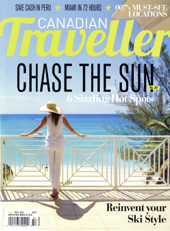 Chase The Sun CANADIAN TRAVELLER