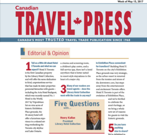 Five Questions with Henry Kallan<br>Travel Press