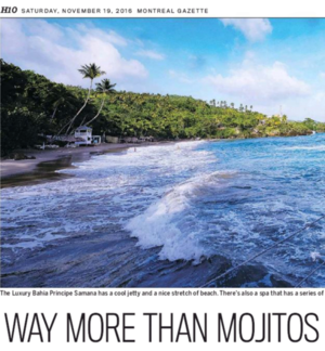 Way More Than Mojitos<br>MONTREAL GAZETTE