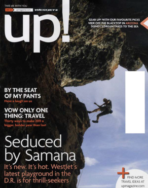 Seduced by Samana<BR>UP! MAGAZINE