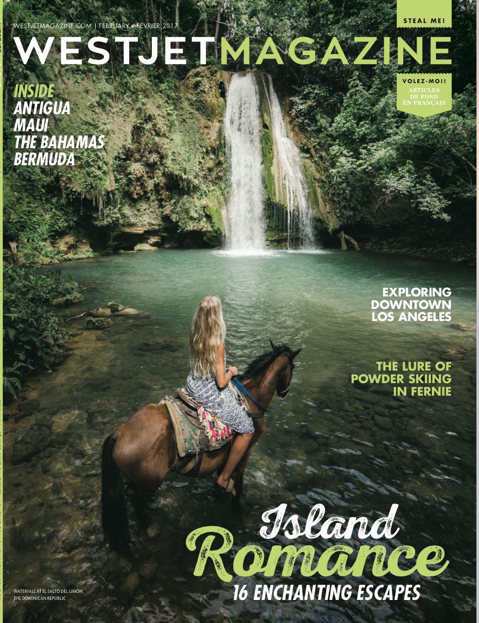 Island Romance<br>WESTJET MAGAZINE