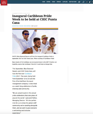 Caribbean Pride Week<br>TRAVEL PULSE