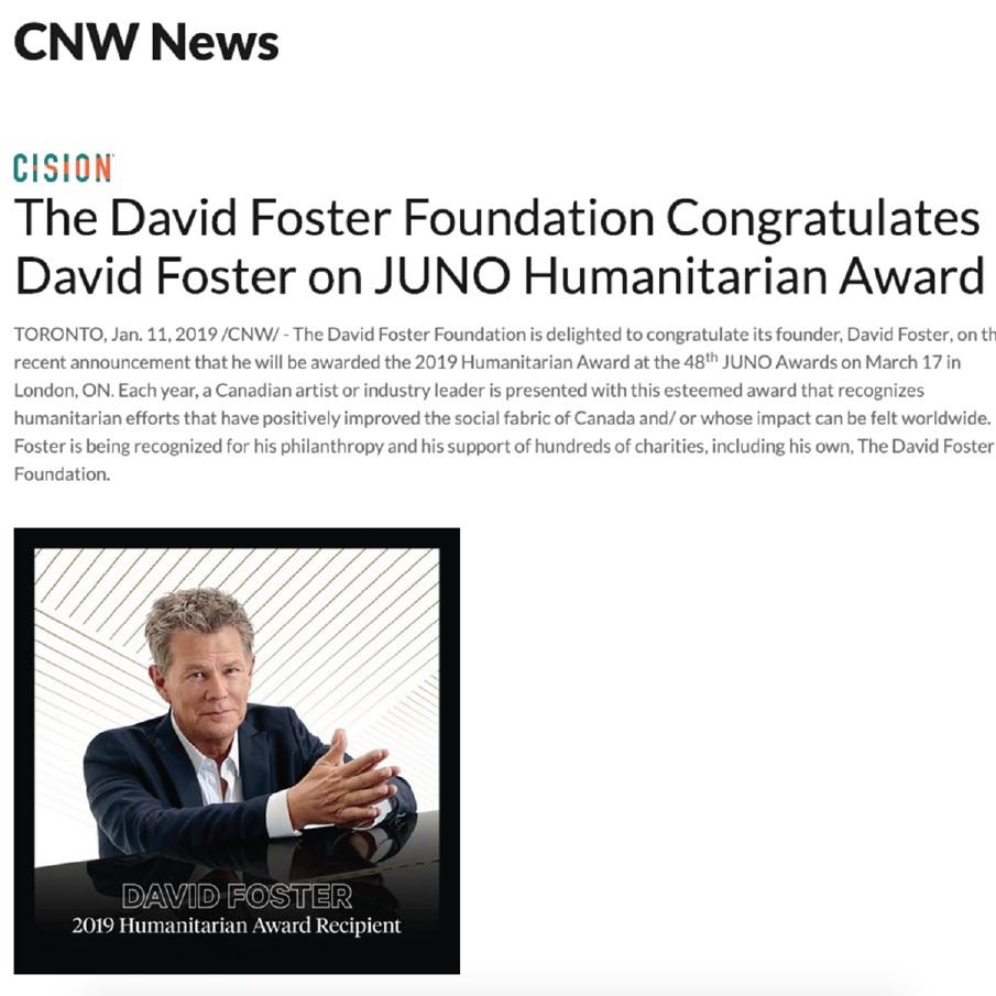 CNW NEWS