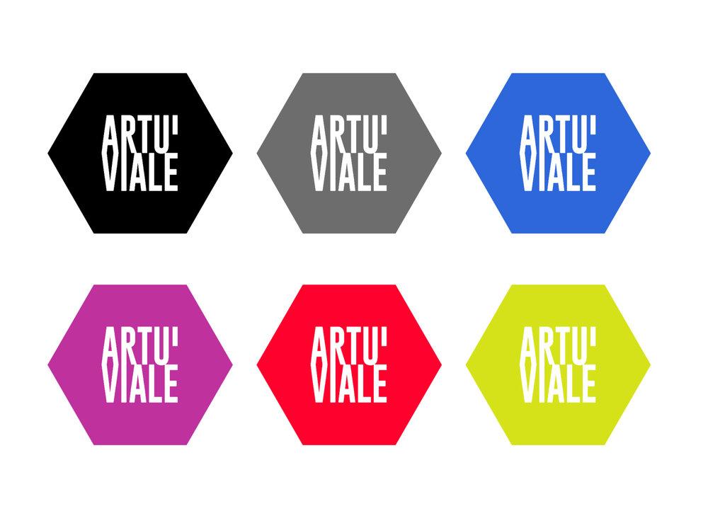 Artu' Viale logotype by Petr Dubecky