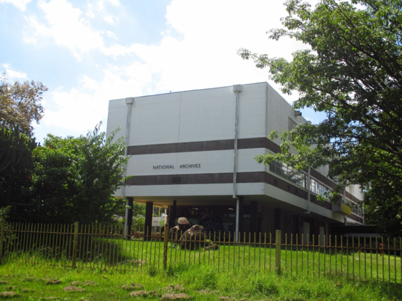 The National Archives in Harare, Zimbabwe