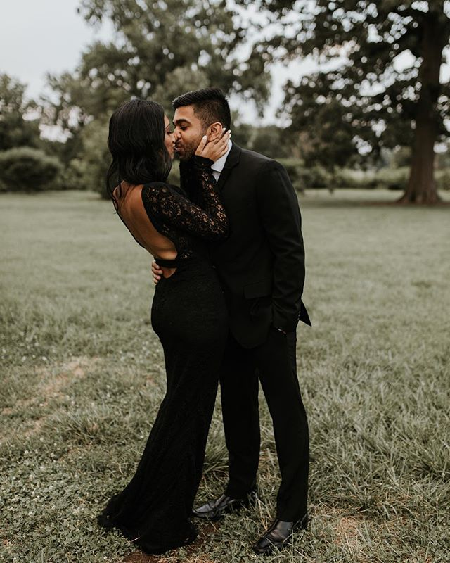 Umm okay I literally died when these two walked out in these super sharp outfits! 👏🏼 -  They somehow managed to look this good while braving super hot + humid weather, as well as a proposal and fitness class happening close by! Clearly the city lacks private spaces 😂 - Lots of laughs in this session and I seriously can't wait for their two-day wedding next year!! Love looks great on these two 🖤 - Sharing more favorites from this session in my stories!