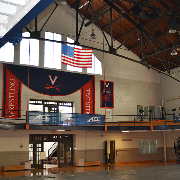 UVA Memorial Gym Suspended Track Evaluation