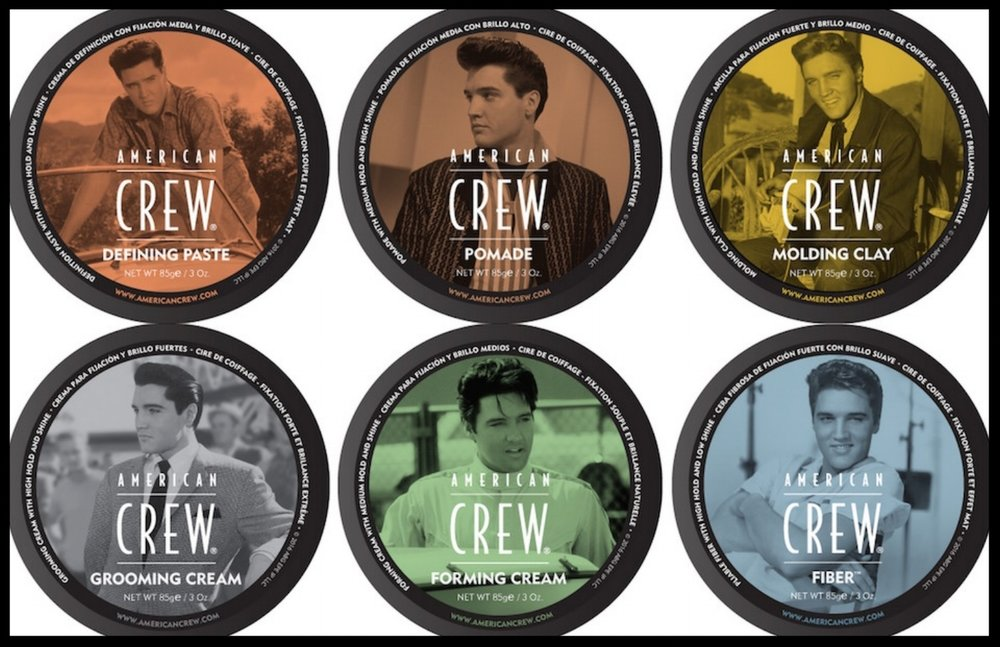 American Crew - American Crew for men in stock. To give you that Elvis hair hold for any styling that makes other do a double take.