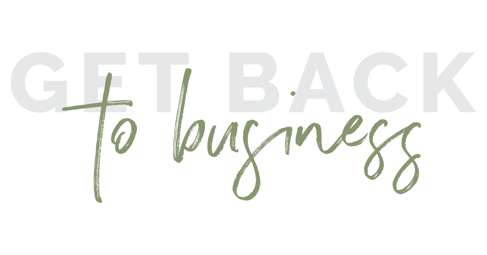 Get Back To Business Podcast